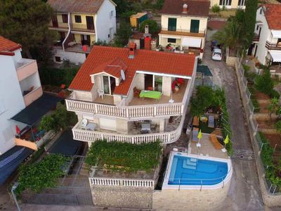 Photo for Seaside house with a swimming pool Okrug Donji (Čiovo) - 13428