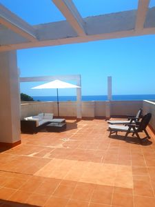 Photo for Spectacular Penthouse with rooftop terrace overlooking  the Mediterranean Sea