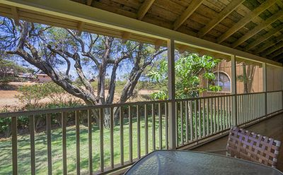 Photo for Paniolo Hale one bedroom end unit with large decks on 2 sides.  Nice and private.