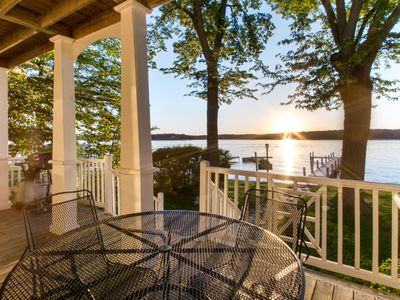 Photo for Absolutely Adorable Lakefront Home for Rent on Lake Delavan
