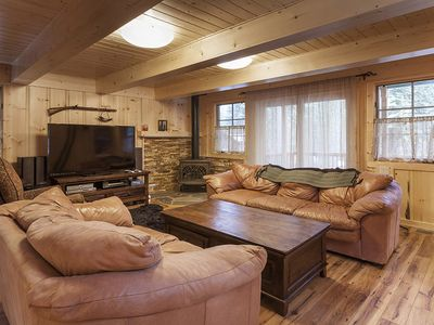 Photo for Poplar Place: 3 BR / 3 BA house/cabin in Homewood, Sleeps 8