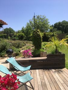 Photo for House full of charm, renovated with garden, 7 people, Aix-en-Provence.