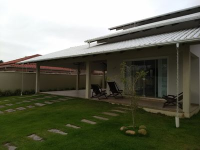 Photo for House on the beach w / swimming pool at 2km Beto Carrero, available p / this week end.
