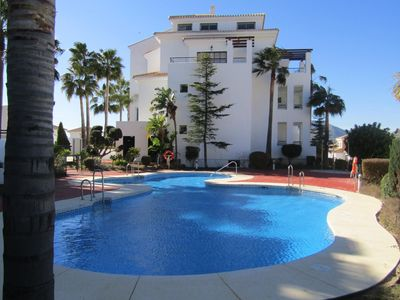 Photo for 2 bedroom, 2 bathroom apartment in Alhaurin Golf with communal pool.