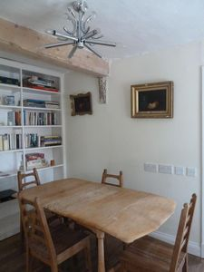 Entrance hall dining area
