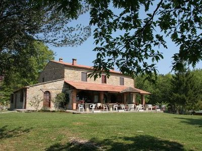 Photo for Holiday house Sassetta for 16 - 25 persons with 8 bedrooms - Farmhouse