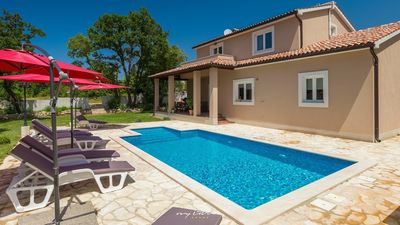 Photo for Modern villa with private pool and big garden