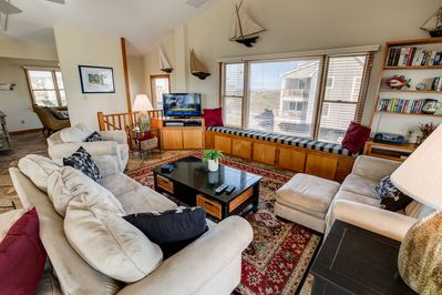Great Room with Deck Access
