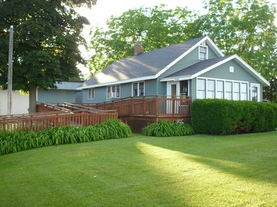 Photo for SLEEPS 8, TRAVERSE CITY 5 minutes to downtown SANDY BEACH Kaiser House