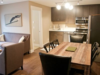 Photo for Brand New! 2bd/1ba! Close To Base Area! Hot Tub! Bus Loop! Pets Considered