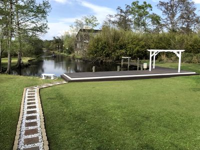 newly renovated deck