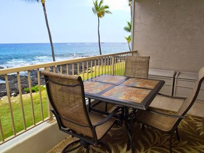 Photo for Outstanding Oceanfront Deluxe Condo – Waterfront! King Bed & AC