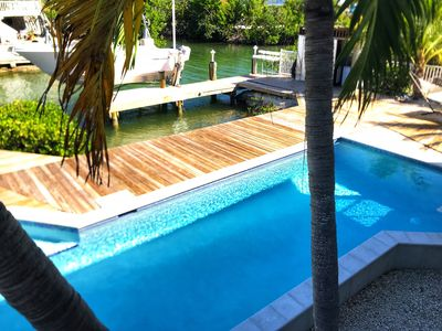 Photo for KEYS PARADISE! HEATED SWIMMING POOL,  MINUTES FROM OCEAN WITH DEEP WATER CANAL