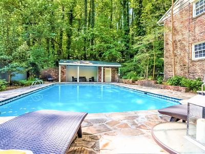 Photo for SUMMER SALE_Spacious Home*Pool*HotTub*BBQ*Foosball-Close To Airport&Downtown