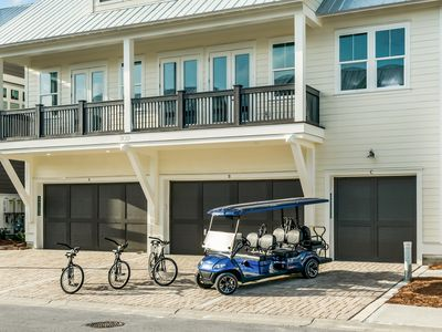 6-Seater Golf Cart! 3 bikes! Resort Style Pool! Beach! ~ Salt Life at Prominence North