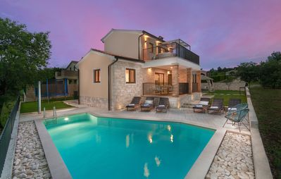 Photo for Romantic villa is ideal for families with kids or couples.