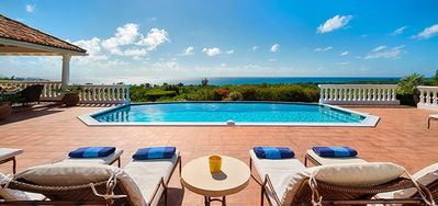 Villa Mer Soleil  -  Ocean View - Located in  Stunning Terres Basses with Private Pool