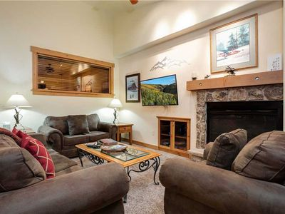 Photo for Spacious Summer Condo - Steps away from Steamboat Resort, parking garage access!