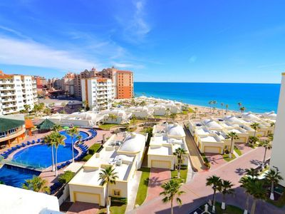 Photo for Sandy Beach Great family resort with water slides for the kids 2 bedroom 2 bath
