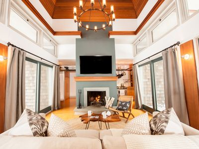 Photo for Modern Cozy Wooded Retreat On 30 Private Acres