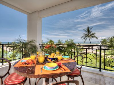 Photo for Amazing Beachfront Luxury Condo in Puerto Vallarta!