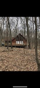 Photo for Cozy A frame Cabin in the beautiful Woods Golf Resort