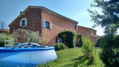 Photo for Village house with garden at the foot of Ventoux
