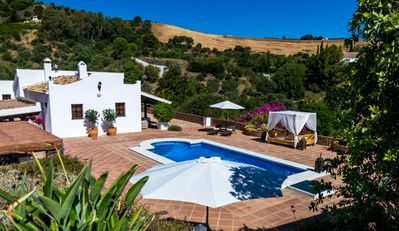 Photo for LUXURY FINCA + Huge Pool + Amazing Views + 25 Min from Malaga, Marbella & Beach