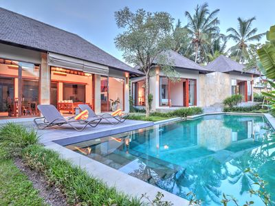 Photo for Luxury,Nice view private 2BR villa 5 Mins to ubud center