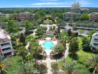 Photo for Ground floor condo inside of luxury resort w/ shared pools, close to Disney!