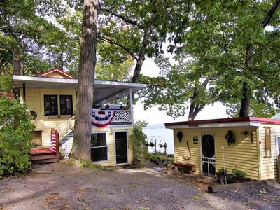 Photo for Lakefront home w/ private hot tub, dock, boat lift & firepit - 2 dogs OK!