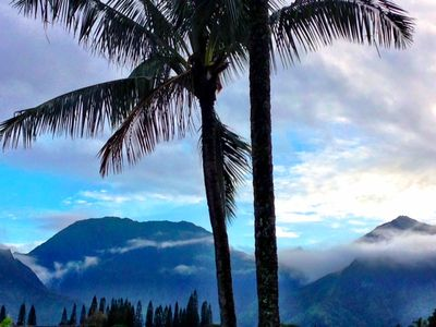 Photo for Majestic Waterfall ~ Tropical Mountain & Sunset Views ~ Top Floor Suite