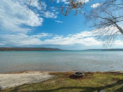 Photo for Little Glen Lakefront Vacation Home, Sandy Beach