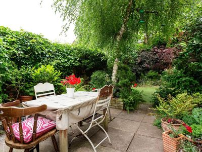 Photo for Antique 3BR house with garden & roof terrace, near London Fields, by Veeve