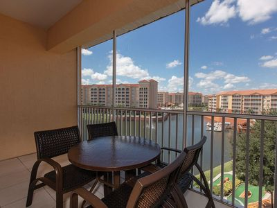 Photo for Luxury resort, close to Disney, with on-site water park, pools and theater