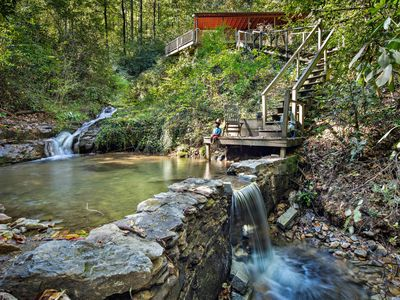 Photo for Angel Falls - Mr Lake Lure Vacation Rentals