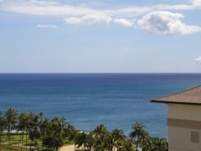 Stunning view from the front lanai
