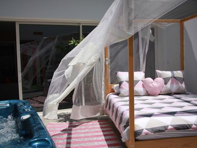 Photo for Hotel, Passion jacuzzi suite, an unusual night under the stars
