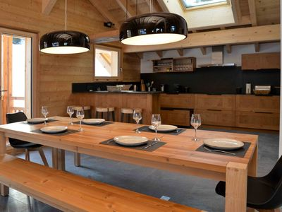 "Photo for Chalet ""Les Flocons"" located at the foot of the ski slopes"