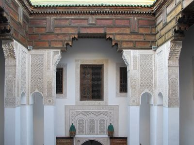 Photo for XVth c. old Riad - a Haven of Peace in the Heart of the Medina - Dar 7 Louyatar