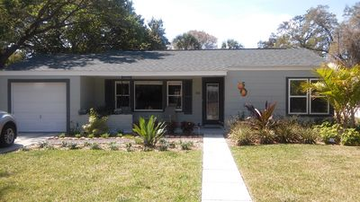 Photo for VERY NICE  2B 1B HOME IN DOWNTOWN DUNEDIN, (CITRUS COTTAGE) DOG-FRIENDLY.