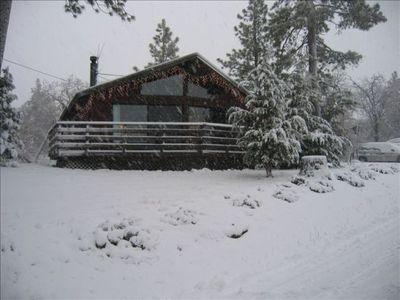 Photo for Sunny Chateau--New Granite kitchen! Great open feel. Lots of SNOW!