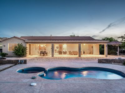 Photo for OFF SEASON SPECIALS! New POOL! Nizhoni Custom Home, Views of Powell, Fast Wifi