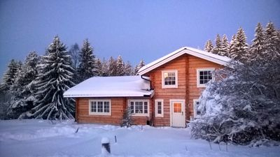 Photo for The Moose lodge .. cozy and stylish lodge in the wild.