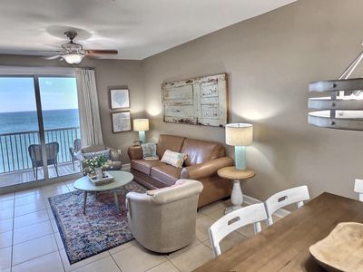 Photo for Newly listed.  100% Updated - Ocean Beach Front Condo - Balcony, parking, Tiki