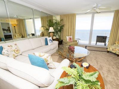 Photo for Gorgeous Condo Overlooking the Water in Panama City Beach! Fantastic Resort Amenities!