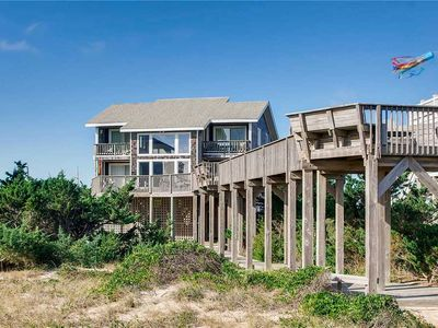 Photo for Tranquil Oceanfront, Avon-Hot Tub, Cmty Pool, GameRm, DogFriendly, Walk to Beach