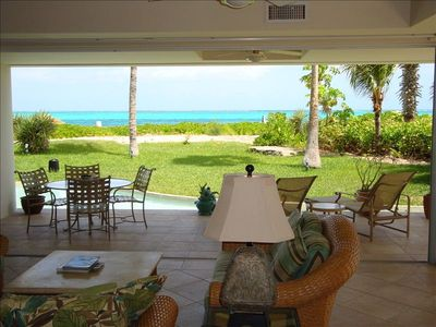 Photo for Oceanfront Luxury Condo on Grace Bay's Best Snorkeling Reef