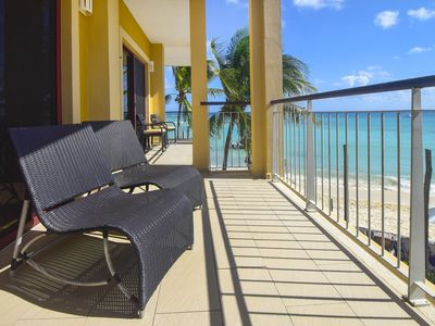 Photo for Don't settle for anything less than the best!  El Faro 4 Bdrm True Oceanfront