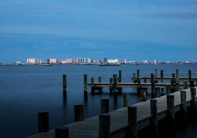View from The Point towards Ocean City Md, across the bay